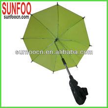 Green baby car umbrella