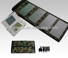7W portable folding solar panel charger monocrystalline silicon