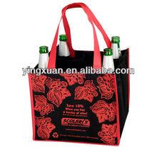 non woven win bagPromotional wholesale laminated cloth fashion cheap fabric canvas cotton foldable reusable gift bag