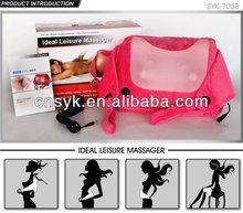 Full body shiatsu infrared massage cushion car/home/office use