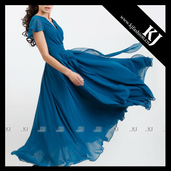 2013 Baju kurung fashion with 2 layers composite silk designs FY-50
