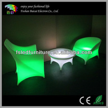 LED Arm Chair BCG-351C with Light Color Change