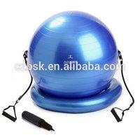 gym ball with tube,gymball