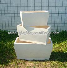 Cheap Ceramic Flower Pots And Planter Flower Bucket Planter White Plant Planters Wholesale