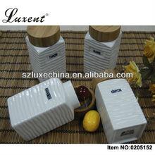 Custom Ceramic Condiment Jars