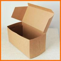 Kraft Cupcake or Gift Boxes cake box carton eco kraft paper bag kraft paper carton