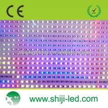 ws2801 DMX flexible rgb led digital addressable pixel waterproof strip