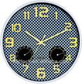 Higrómetro reloj de pared de diseño moderno reloj de pared wh-6911b de cuarzo reloj de pared