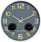 Hygrometer Wall Clock Modern Designer Wall Clock WH-6911B Quartz Wall Clock
