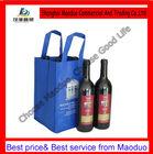 four bottle wine bag (non woven material)