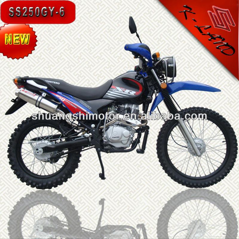 Chinese buy 250cc gas powered enduro dirt bikes (SS250GY-6)