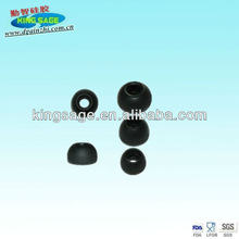 silicone earphone rubber cover for MP3/MP4,silicone rubber earplug cover,silicone earbud covers