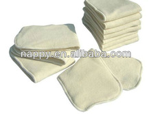 3 layers Bamboo diaper insert washable and reusable for baby diapers