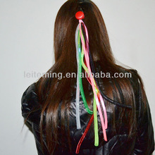 LED flashing hair braid Noodle