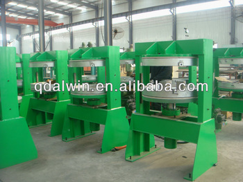 Motorcycle and bicycle tube vulcanizing press machine