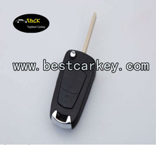 3 buttons replacable key shell for origianl opel corsa key auto blank key