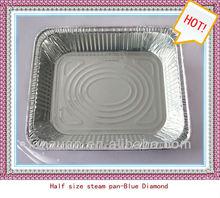 half size disposable aluminium foil tray