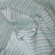 100% fabric cotton blue and white striped