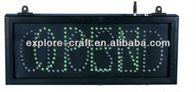 hanging style led open sign