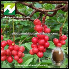 Manufacture Schizandra Chinensis Extract 2%-9% Schisandrins