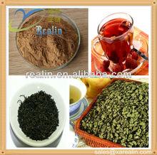 Factory Supply 100% Natural Black Tea Extract Powder