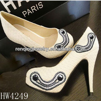 new design smile face shoe buckle ,shoe decorative for hign heel