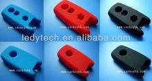 Hot: Suzuki Swift smart car key silicone silicon rubber key bag case cover in black red blue colors
