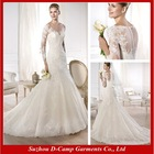 WD-1138 Muslim wedding gowns wholesale price ready made wedding gowns