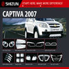 Sizzle 2007 Chevrolet Captiva Parts Chrome Accessories