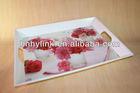 new designer melamine serving tray