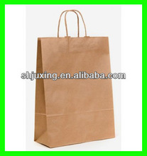 New style Carrying christmas brown paper gift bags
