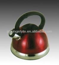 KS-1009 2.0L Red stainless steel whistle kettle
