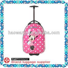 Newest Design Cheap Cute Trolley Hard Case Kids Luggage Sets Manufacturer
