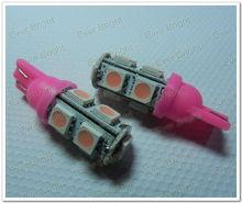 12v 24v T10 194 168 W5W 5050 9 SMD 9 LED High Power LED Lights, Led Signal Bulbs Led License Plate Lamp,auto led t10