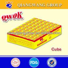 QWOK 4G*112*30 CHICKEN/BEEF/SHRIMP BOUILLON CUBE SOUP CUBE