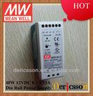 MEAN WELL 40W 12V Din Rail Power Supply UL CUL TUV CB CE MDR-40-12