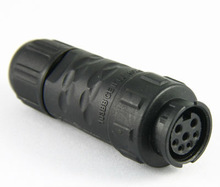 3+4p Standard waterproof connector,Chogori IP67 high quality Nylon connector