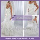 PB082 2012 New style crystal lace mermaid wedding dress for big woman