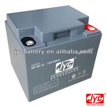 lead acid battery 12V 40AH for solar wind power UPS inverter