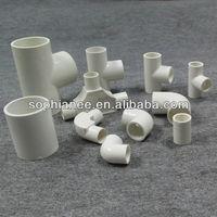 White Plastic PVC Fitting Name