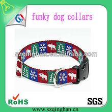 custom cattle tree Meter character logo big funky dog collars