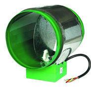 motorised air damper for ventilation