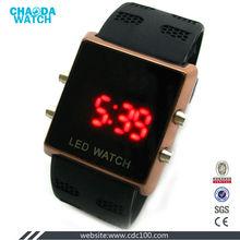 sports digital led mens black watch