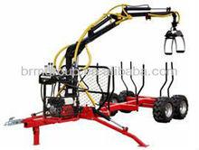ATV Timber Trailer/Wood Trailer/Log Trailer with Crane LT3000