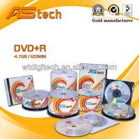 White inkjet printable dvd 4.7GB Full Face Printing