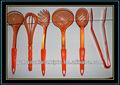 PVC Nuevo tipo colorido nuevo diseño utensilios de comida en plástico para la cocina