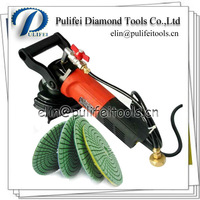 Variable Speed Angle Water Grinder for Stone Polishing and Cutting