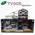 Todos- metal ty905 3 pequeno canal helicóptero do rc