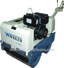Wkr600 doppel vibrierende straßenwalze, hydraulikmotor, japanische hydraulikpumpe