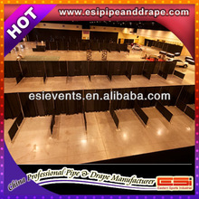 ESI Wedding event supplies pipe and drape fabric backdrop decoration